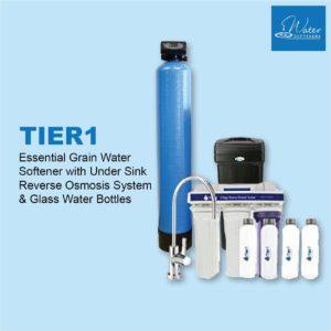 Tier1 Essential Series 48,000 Grain Water Softener
