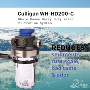 best whole house water filteration system