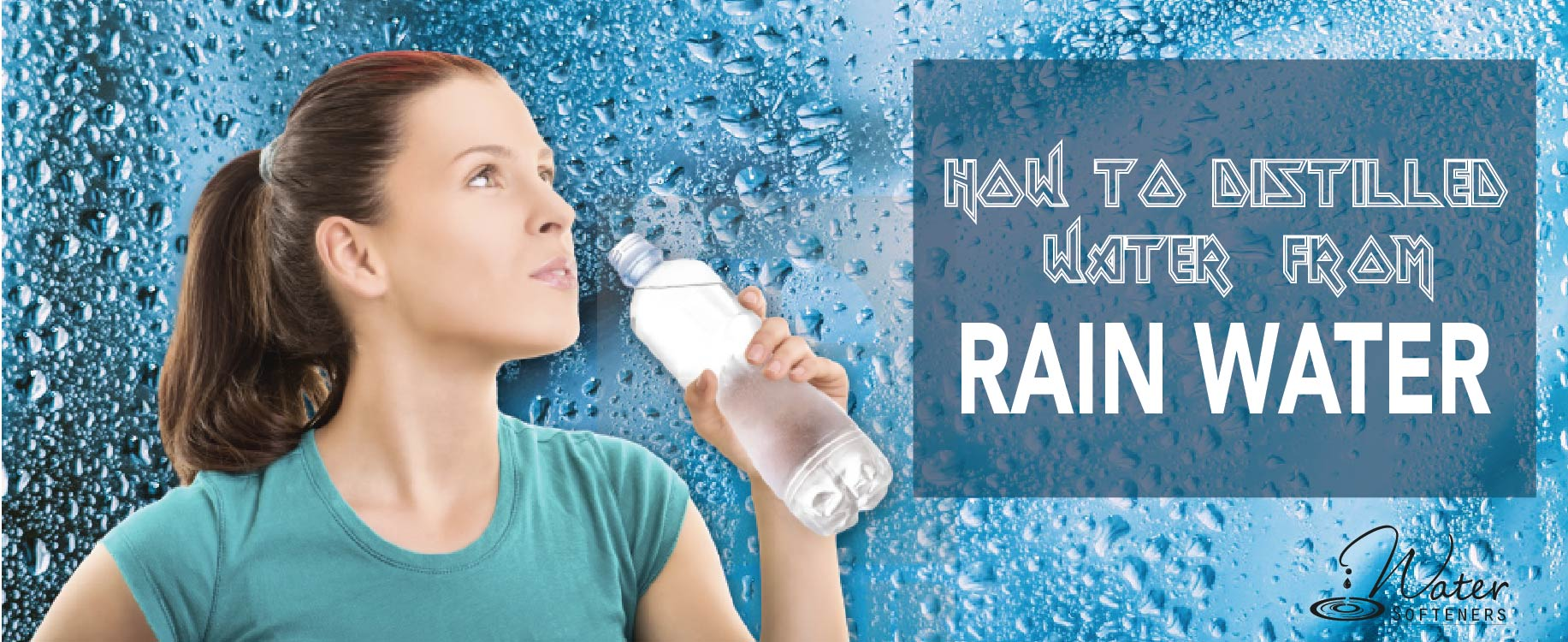 How to distilled water from rainwater