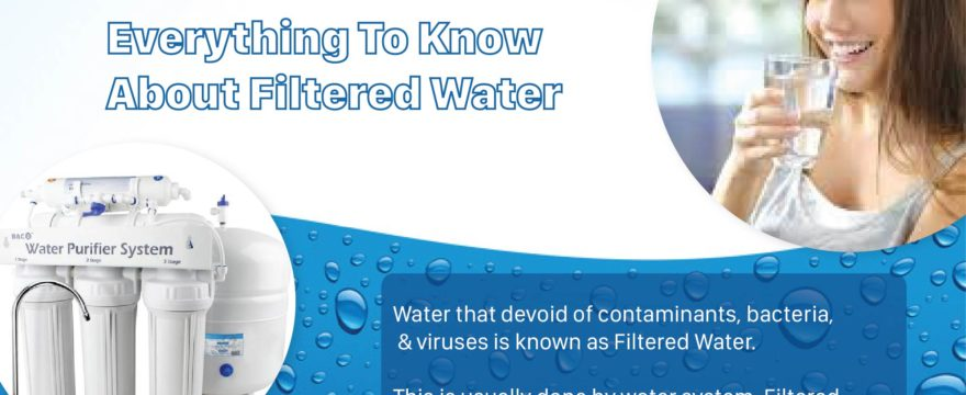 What is Filtered Water – Everything to Know About Filtered Water