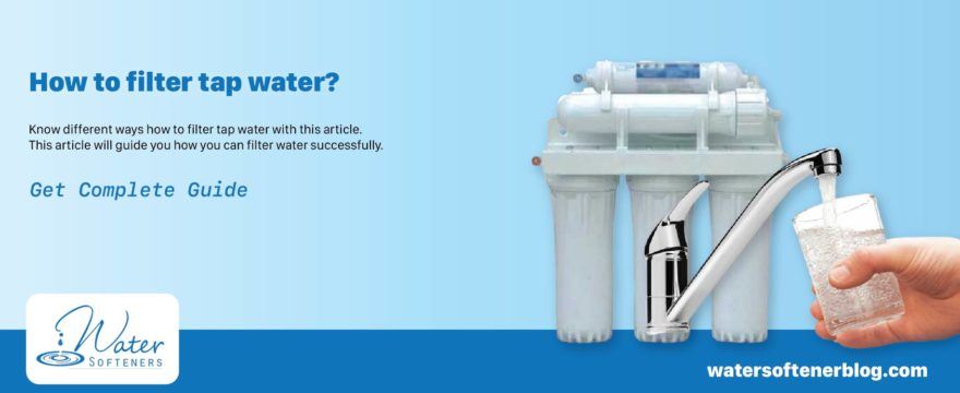 How to Filter Water – Drink Purify water with an easy Procedure