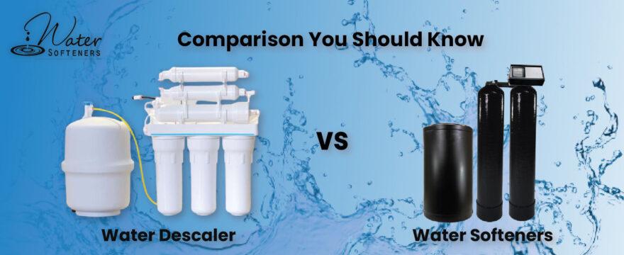 Water Descaler Vs Water Softener comparison
